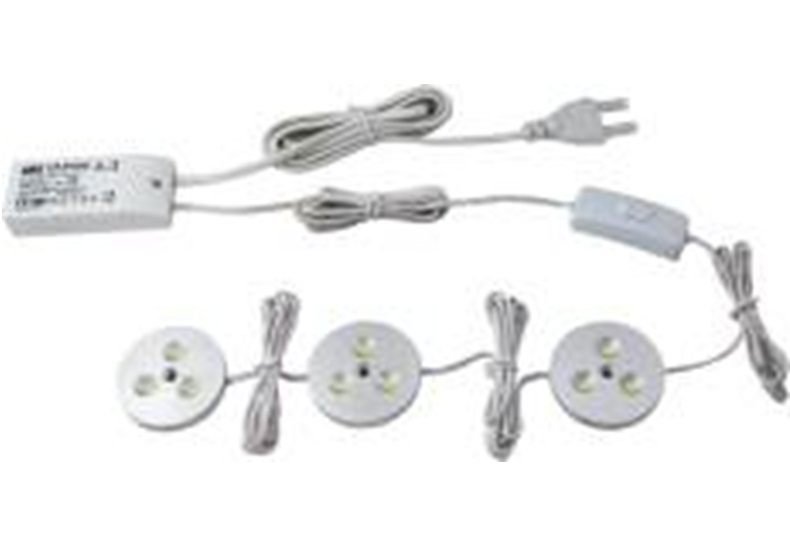 LED Kastverlichting set | 3 Lampjes | 3 x 3 Watt LED TL verlichting